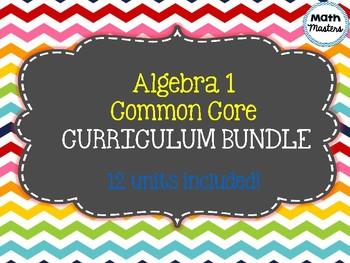 Algebra 1 Common Core Curriculum