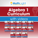 Algebra 1 Complete Curriculum with Videos Bundle | Good fo
