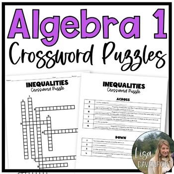 alegebra 2 factoring and quadratics crosspuzzle