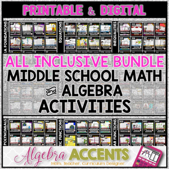 Algebra 1 ALL INCLUSIVE Platinum Membership