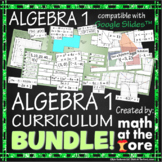 Algebra 1 - Curriculum - BUNDLE - GOOGLE Slides