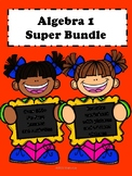 Algebra 1 Curriculum:Super Bundle No Prep Lessons (600+ Pages)