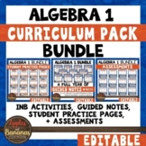 Algebra 1 Curriculum Pack Bundle