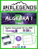 Algebra 1: Data & Graphs: Graphs, Line Graphs, & Histograms - Google Form #1