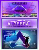 Algebra 1: Data & Graphs: Interpreting Circle Graphs - Google Form #1
