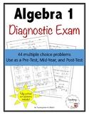 Algebra 1 Diagnostic Test - Distance Learning