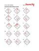 Algebra 1: Diamond Problems Worksheet with Answers