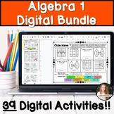 Algebra 1 Digital Activities Bundle!