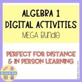 Algebra 1 Digital Activities MEGA Bundle - GROWING