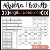 Algebra 1 Digital Resources Bundle