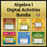 Algebra 1 Digital Resources Bundle - Distance Learning 25% Savings