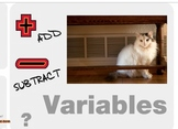 "Algebra 1: (EE.1) ""Solving Equations with Adding&Subtracting"" Prezi/iPad Lesson"