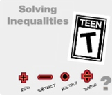"""Algebra 1: (EE.7) """"Solving Inequalities"""" Prezi/iPad Lesson"""