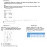 Algebra 1 EOC FSA Review Packet