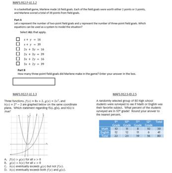 Ziemlich Holt Algebra 2 Antwortschlüssel Arbeitsblatt ...