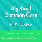 Algebra 1 EOC Review