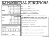 Algebra 1 EOC Review - Exponential Functions