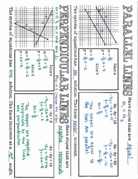 Algebra 1 EOC Review - Parallel and Perpendicular Lines