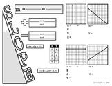 Algebra 1 EOC Review - Slope