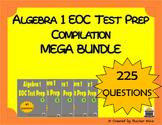 Algebra 1 EOC Test Prep Compilation MEGA BUNDLE