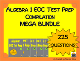 Algebra 1 EOC Test Prep Compilation MEGA BUNDLE