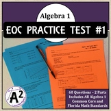 Algebra 1 EOC Practice Test #1
