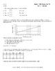 Algebra 1 EOC and FSA Practice Test #2