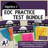 Algebra 1 EOC Practice Test Bundle