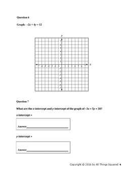 Algebra 1 End of Course Assessment Practice 1