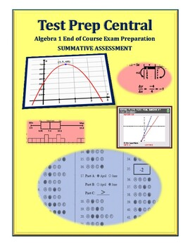 Algebra 1 End Of Course Review Worksheets & Teaching Resources | TpT