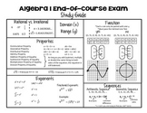Algebra 1 End-of-Course Study Guide