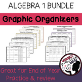 Algebra 1 Review Graphic Organizers