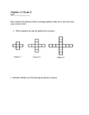 Algebra 1 Exam 1 Study Guide