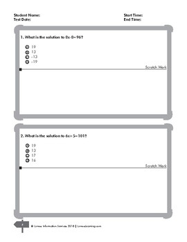Algebra 1 Explaining Equation and using properties Printable Worksheets