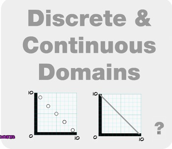 "Algebra 1: (F.11) ""Discrete & Continous Domains Prezi/iPad Lesson"