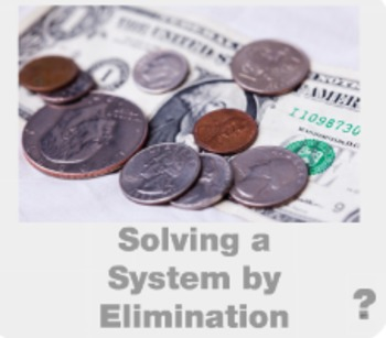 """Algebra 1: (F.7) """"Systems of Linear Equations by Elimination"""" Prezi/iPad Lesson"""