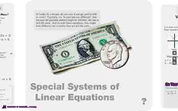 "Algebra 1: (F.8) ""Special Systems of Linear Equations"" Prezi/iPad Lesson"