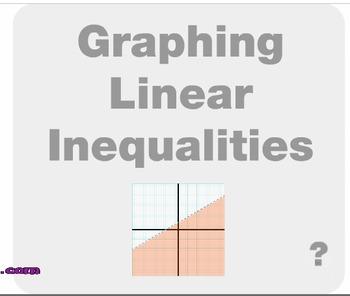 "Algebra 1: (F.9) ""Graphing Linear Inequalities"" Prezi/iPad Lesson"
