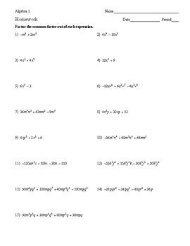 Algebra 1 homework help and answers