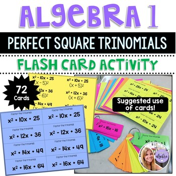 Factoring Perfect Square Trinomials Teaching Resources Teachers