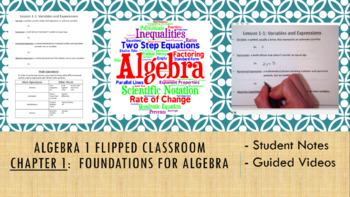 Algebra 1 Flipped Classroom - Chapter 1