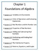 Algebra 1 Flipped Classroom - FULL COURSE (Videos and Notes)