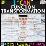 Algebra 1 Function Transformations Game