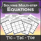 Algebra Games {Algebra 1 & 2 Games} {Solving Multi Step Equations Game}