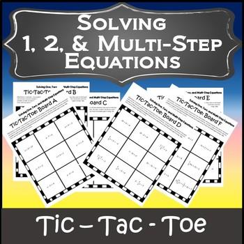 Algebra Games {Algebra 1 Games} {Solving Multi Step Equations Game}