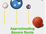 "Algebra 1: (Geometry.7) ""Approximating Square Roots"" Prezi/iPad Lesson"