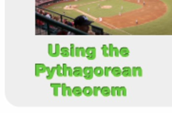 "Algebra 1: (Geometry.9) ""Using the Pythagorean Theorem"" Prezi/iPad Lesson"