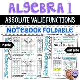 Algebra 1 - Graphing Absolute Value Functions
