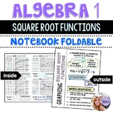 Algebra 1 - Graphing Square Root & Radical Functions