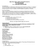 Algebra 1/Honors Algebra 1 Syllabus